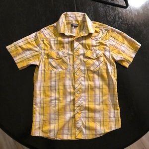 Boy's size 12 Western-style, short-sleeve shirt